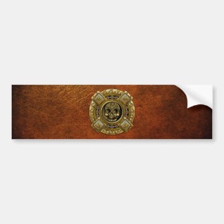 Mictlantecuhtli – Aztec God of Death Bumper Stickers