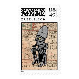 Mictlantecuhtli Postage Stamps