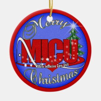 MICU CHRISTMAS ORNAMENT Mobile Intensive Care Unit