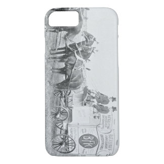 Mid 1800's Horse and Carriage Advertising Wagon iPhone 8/7 Case