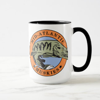 Mid-Atlantic Muskies Coffee Mug II (centered)