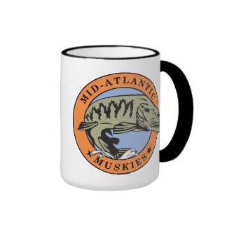Mid-Atlantic Muskies Coffee Mug II centered