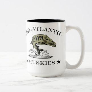 Mid-Atlantic Muskies Two-Tone Mug