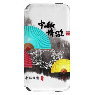 Mid Autumn Festival Design Element iPhone 6/6s Wallet Case