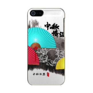 Mid Autumn Festival Design Element Metallic Phone Case For iPhone SE/5/5s