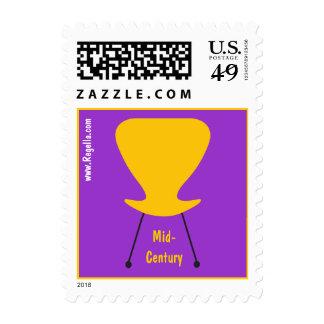 Mid-Century Chair Stamp