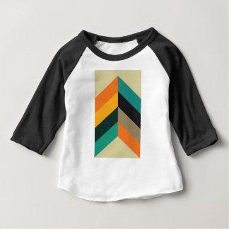 Mid Century Chevron Baby T-Shirt