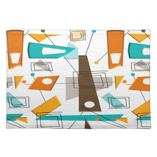 Mid-Century Design Style Placemats #6