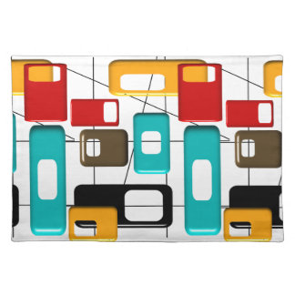 Mid-Century Design Style Placemats #7