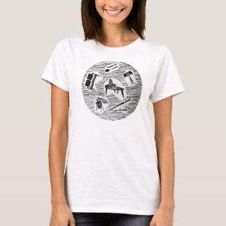 Mid Century Dishes Design T-Shirt