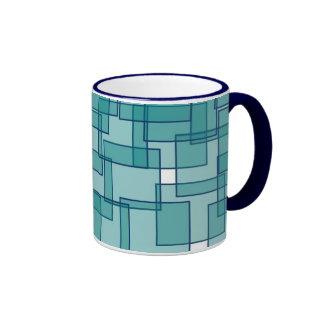 Mid Century Geometric Mug
