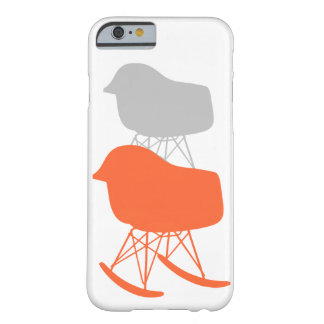 Mid-Century Gray Pattern Chair Silhouette Barely There iPhone 6 Case