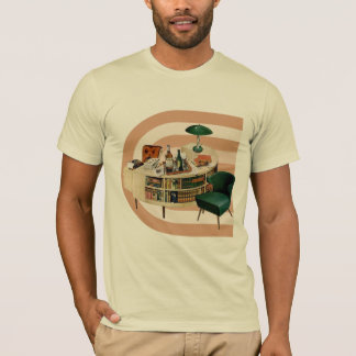 Mid Century Home Office T-Shirt