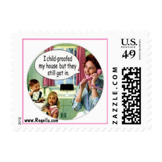 Mid-Century Humor Stamp 1
