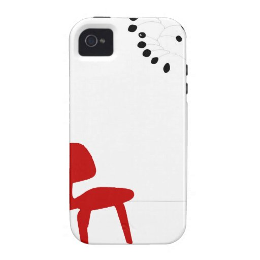 Mid Century Love Vibe iPhone 4 Cover