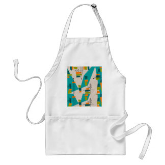 Mid-Century Modern Abstract #55 Aprons