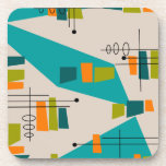 Mid-Century Modern Abstract #55 Drink Coaster