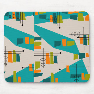 Mid-Century Modern Abstract #55 Mouse Pad
