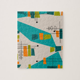 Mid-Century Modern Abstract #55 Puzzle