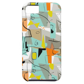 Mid-Century Modern Abstract Design #4 iPhone 5 Cover