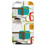 Mid-Century Modern Abstract Design iPhone 5 Case