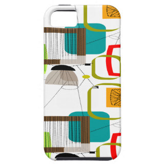 Mid-Century Modern Abstract Design iPhone SE/5/5s Case
