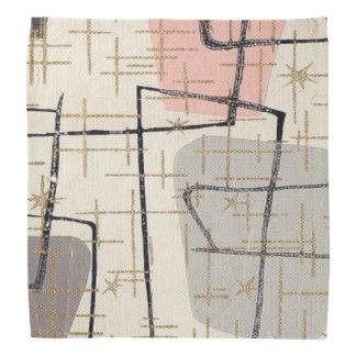Mid Century Modern Abstract Fabric Bandana