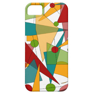 Mid-Century Modern Abstract iPhone 5 case