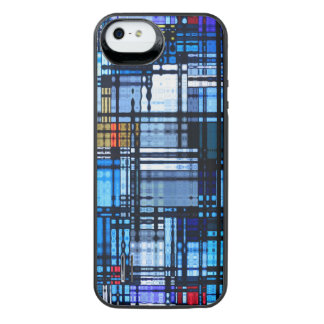 Mid Century Modern Abstract iPhone SE/5/5s Battery Case