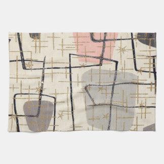 Mid Century Modern Abstract Kitchen Towel