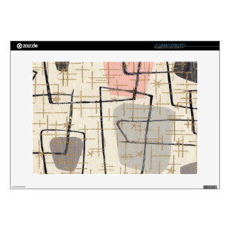 Mid Century Modern Abstract Laptop Skin