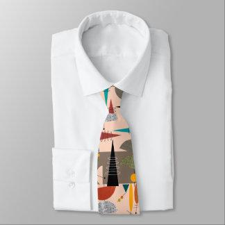 Mid-Century Modern Abstract Tie