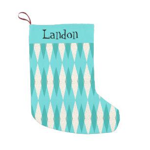 Argyle Christmas Stockings | Zazzle
