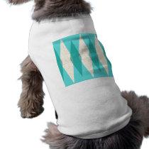 Mid Century Modern Argyle Dog T-Shirt