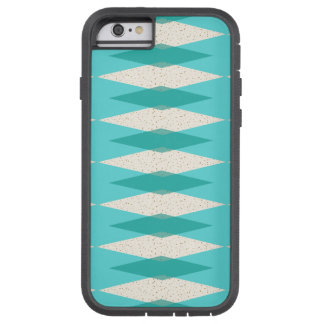 Mid Century Modern Argyle iPhone iPad Case