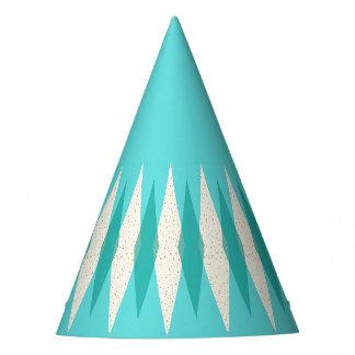Mid Century Modern Argyle Party Hat