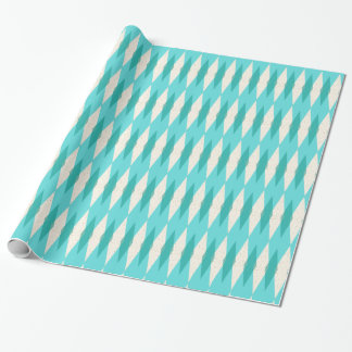 Mid Century Modern Argyle Wrapping Paper