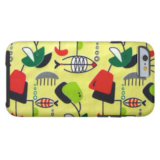 Mid Century Modern Atomic Design iPhone 6 Case