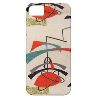 Mid Century Modern Atomic Fabric iPhone 5/5S Case