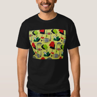 Mid Century Modern Atomic Fish T-Shirt