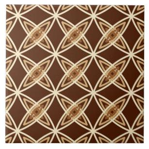 Dark Brown Background Decorative Ceramic Tiles | Zazzle