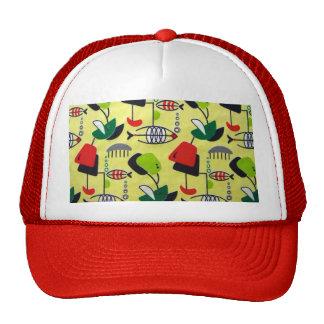 Mid Century Modern Atomic Trucker Hat