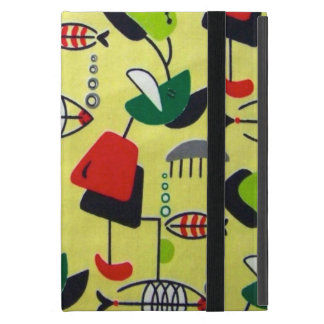 Mid Century Modern Atomid Design iPad Mini Case