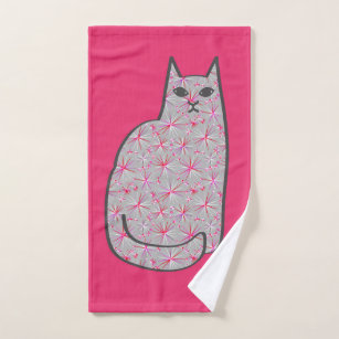Fuchsia Pink Bath Towels Zazzle