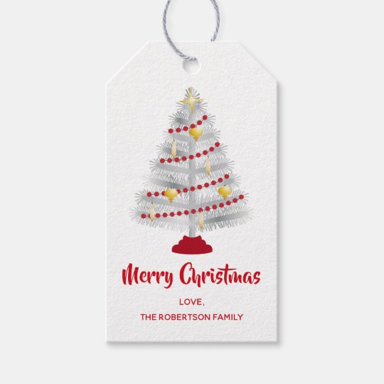 Mid Century Modern Christmas Tree.Mid Century Modern Christmas Aluminum Tree Gift Tags