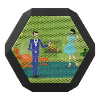 Mid Century Modern Couple Boombot REX Speaker