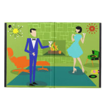 Mid Century Modern Couple iPad Air Case