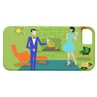 Mid Century Modern Couple iPhone 5/5S Case