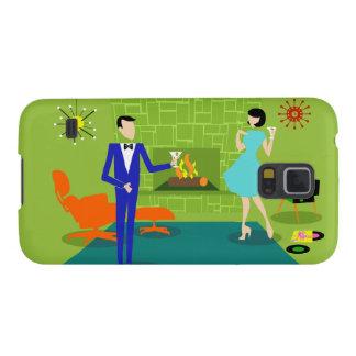 Mid Century Modern Couple Samsung Galaxy S5 Case