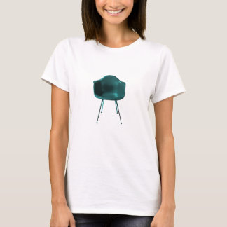 Mid Century Modern Dark Green Chair T-Shirt